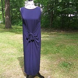 ECI NY Front Tie Dress
